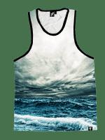Stormy Ocean Unisex Tank Top