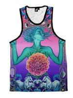 The Gate of Knowledge Unisex Tank Top