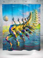 Theros Shower Curtain