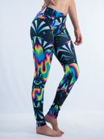 Trippy Hamsa Leggings