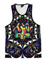 Trippy Lotus Unisex Tank Top