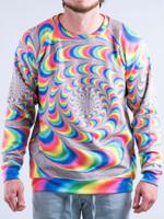 Trippy Spirals Vintage Sweatshirt