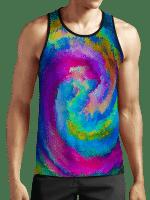 Virtualization of Colors Unisex Tank Top