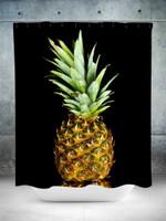 Vivid Pineapple Shower Curtain