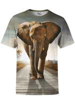 Walking with Elephants Unisex Crew
