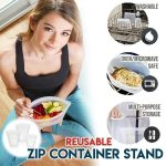 Reusable Zip Containers (3PCS)