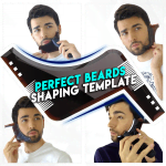 L-Shaped Perfect Beards Shaping Template