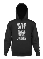 Waylon Jennings Willie Nelson Merle Haggard Johnny Cash Hank
