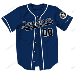 1. Time Lords - Baseball Jersey - CUSTOMIZE NAME AND NUMBER - HOT SALE 3D PRINTED