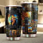 2. We Are All Stories In The End - Stainless Steel Tumbler cup 20oz - All over print / 20oz