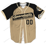 Baseball Jerseys Spaceballs - - CUSTOMIZE NAME AND NUMBER - HOT SALE 3D PRINTED