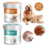 130PCS Pet Ear Wipes Cat Dog Eye Wipes