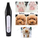 2-in-1 Dog Nail Grinder Pet Electric Clippers