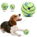 Dog Chewing Dog Tooth Ball Clean