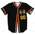 W2 - Hip Hop - Baseball Jersey- CUSTOMIZE NAME AND NUMBER