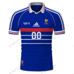 France1998 v1 - CUSTOMIZE NAME AND NUMBER - HOT SALE 3D PRINTED