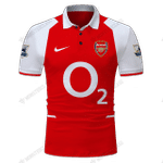 Arsenal 2003-2004 - CUSTOMIZE NAME AND NUMBER - HOT SALE 3D PRINTED