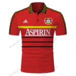 LEVERKUSEN HOME 1998/00 - CUSTOMIZE NAME AND NUMBER - HOT SALE 3D PRINTED