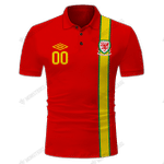 Wales Home Football Shirt 2012-2013 - CUSTOMIZE NAME AND NUMBER - HOT SALE 3D PRINTED