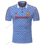 Manchester United 1991-92 Away - CUSTOMIZE NAME AND NUMBER - HOT SALE 3D PRINTED
