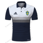 Sweden Away Shirt - Official SVFF Sverige Football - CUSTOMIZE NAME AND NUMBER - HOT SALE 3D PRINTED