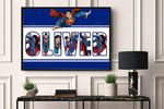 Best gifts D.C 05 - CUSTOM NAME,MOVIE AND CHARACTER  - Premium Poster & Canvas