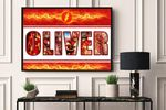 Best gifts D.C 03 - CUSTOM NAME,MOVIE AND CHARACTER  - Premium Poster & Canvas