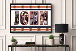 Bears -CUSTOM NAME AND PLAYER- Premium Poster & Canvas