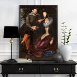 The Honeysuckle Bower -CUSTOM PICTURE- - Premium Poster & Canvas
