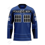 3.0 Tardis - CUSTOMIZE NAME AND NUMBER - HOT SALE 3D PRINTED - NOT IN STORE