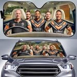 Wests Tigers-ASNRL009 - LIMITED EDITION AUTO SUN SHADES
