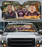 Brisbane Broncos-ASNRL002 - LIMITED EDITION AUTO SUN SHADES