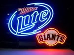 NEON SIGN board For MILLER LITE BEER SFG