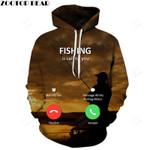 3D Hoodies Fishing