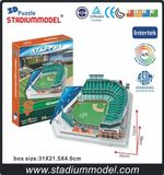 MajorLeagueBaseball MLB SFG Home AT&T Center Stadium 3D Puzzle Model Paper