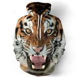 3D Printed Tiger Hoodie