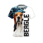 Beagle All Over Print T-shirt