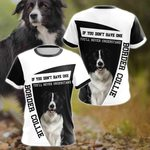 Border Collie All Over Print T-shirt