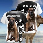 Boerboel Limited Edition 3D All Over Print T-shirt