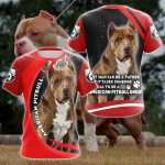 American Pitbull All Over Print T-shirt