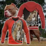 American Pitbull All Over Print Hoodies