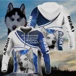 Husky All Over Print Hoodies