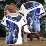 Blue Nose Pitbull All Over Print T-shirt