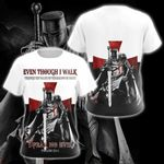 Knight Templar V2 All Over Print T-shirt