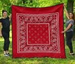 Classic Red Premium Quilt