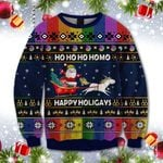 Ho Ho Ho Homo Happy Holigays Sweatshirt