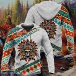 American Native All Over Print Hoodies
