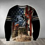 Beautiful Chainsaw Art 3D Sweatshirt