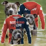 American Staffordshire Terrier Best Friend All Over Print Hoodies