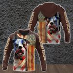 American Bulldog All Over Print Shirts